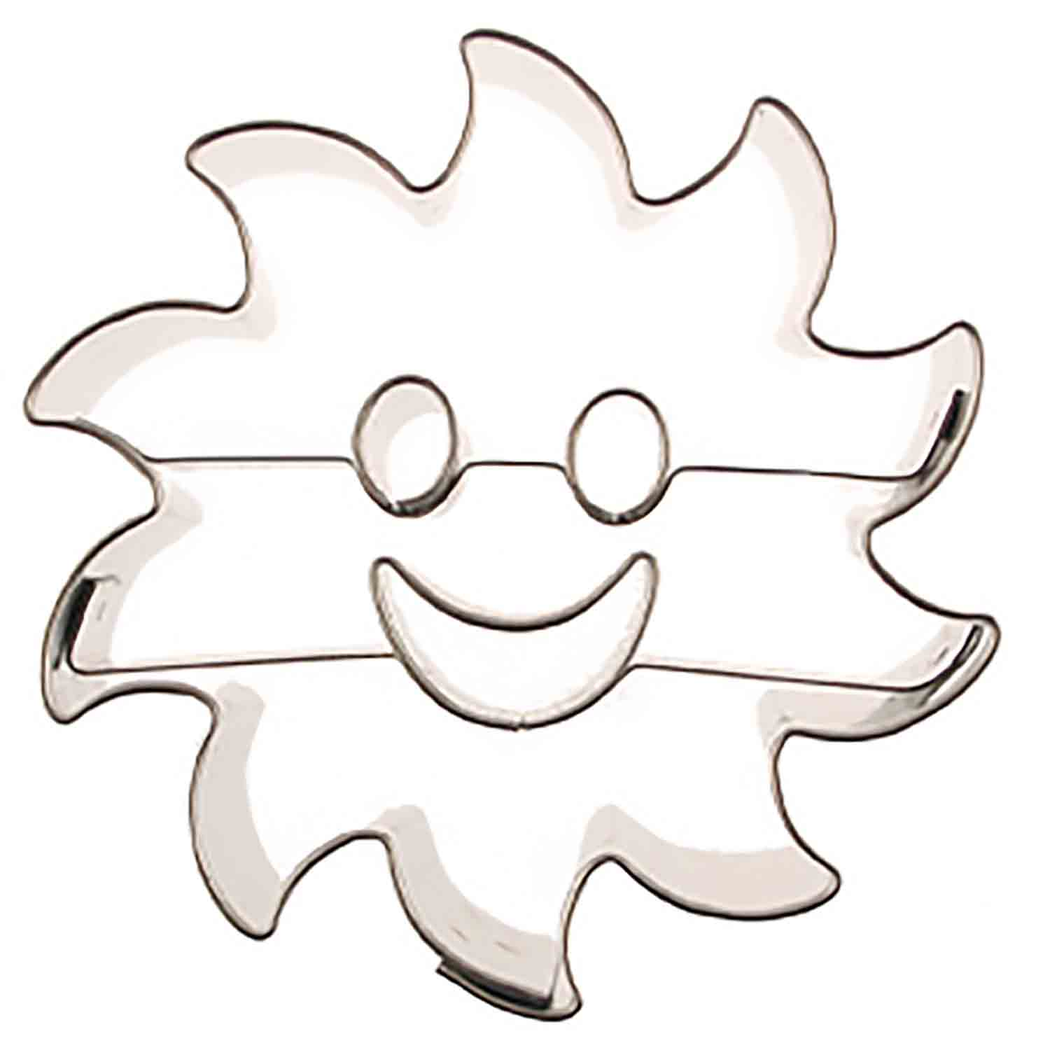 Sun Astro Cookie Cutter