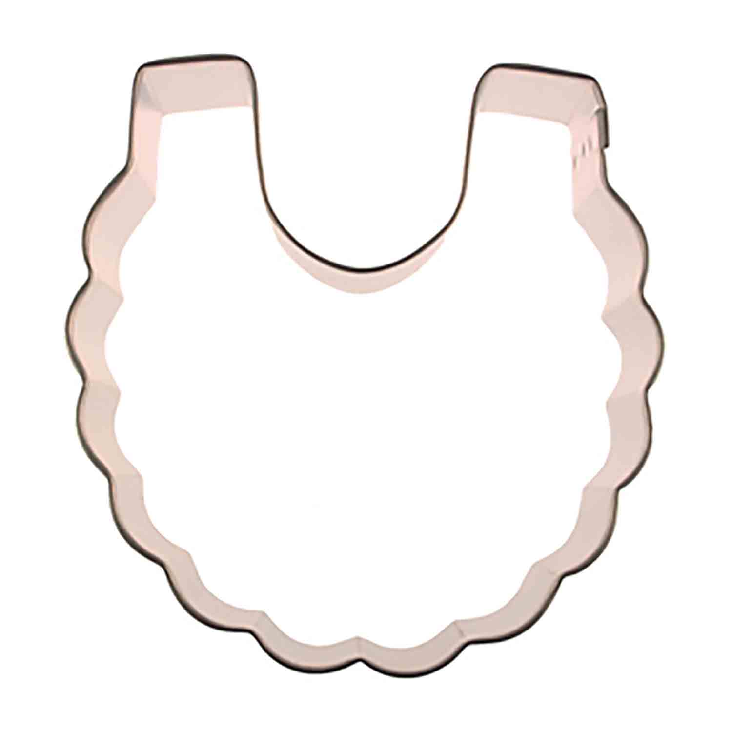 Baby Bib Cookie Cutter