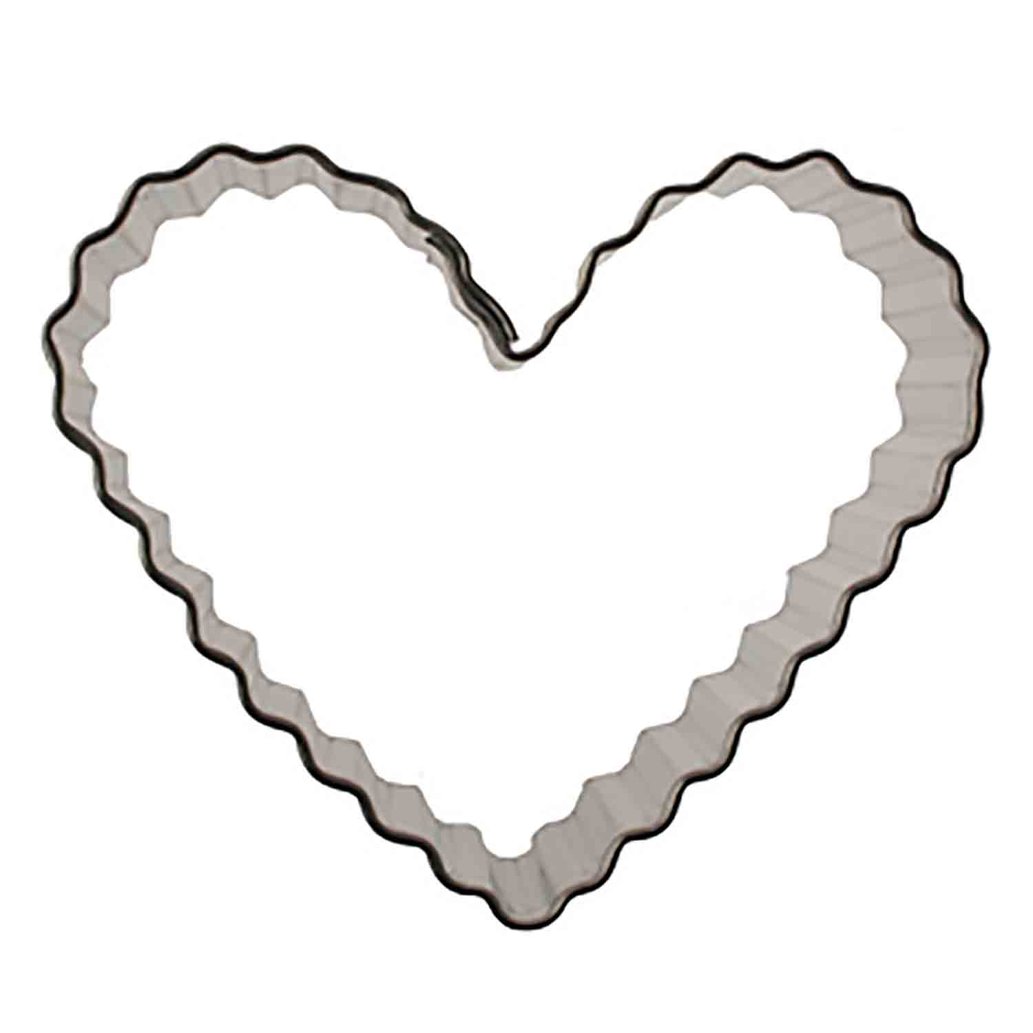 Fluted Heart Cookie Cutter