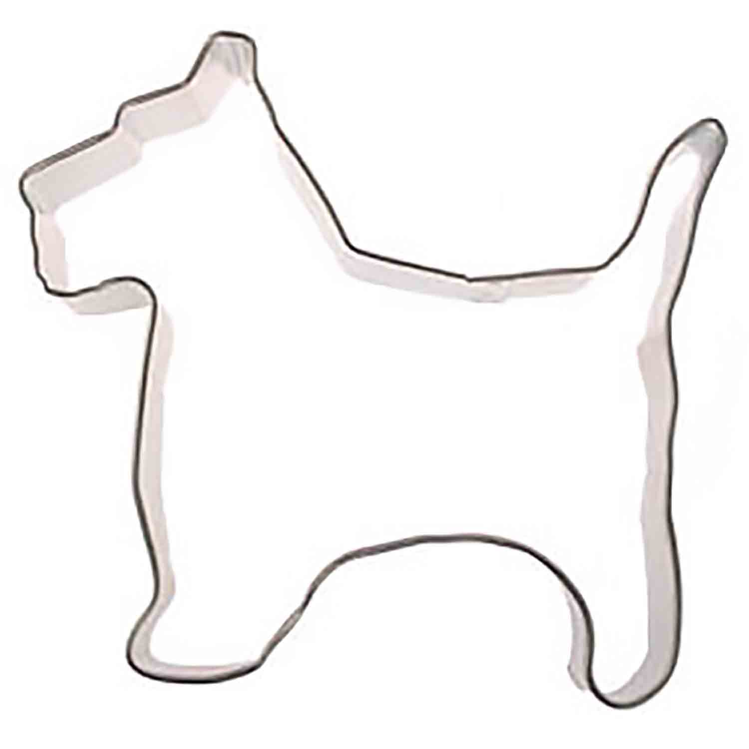 Scottie Dog Cookie Cutter