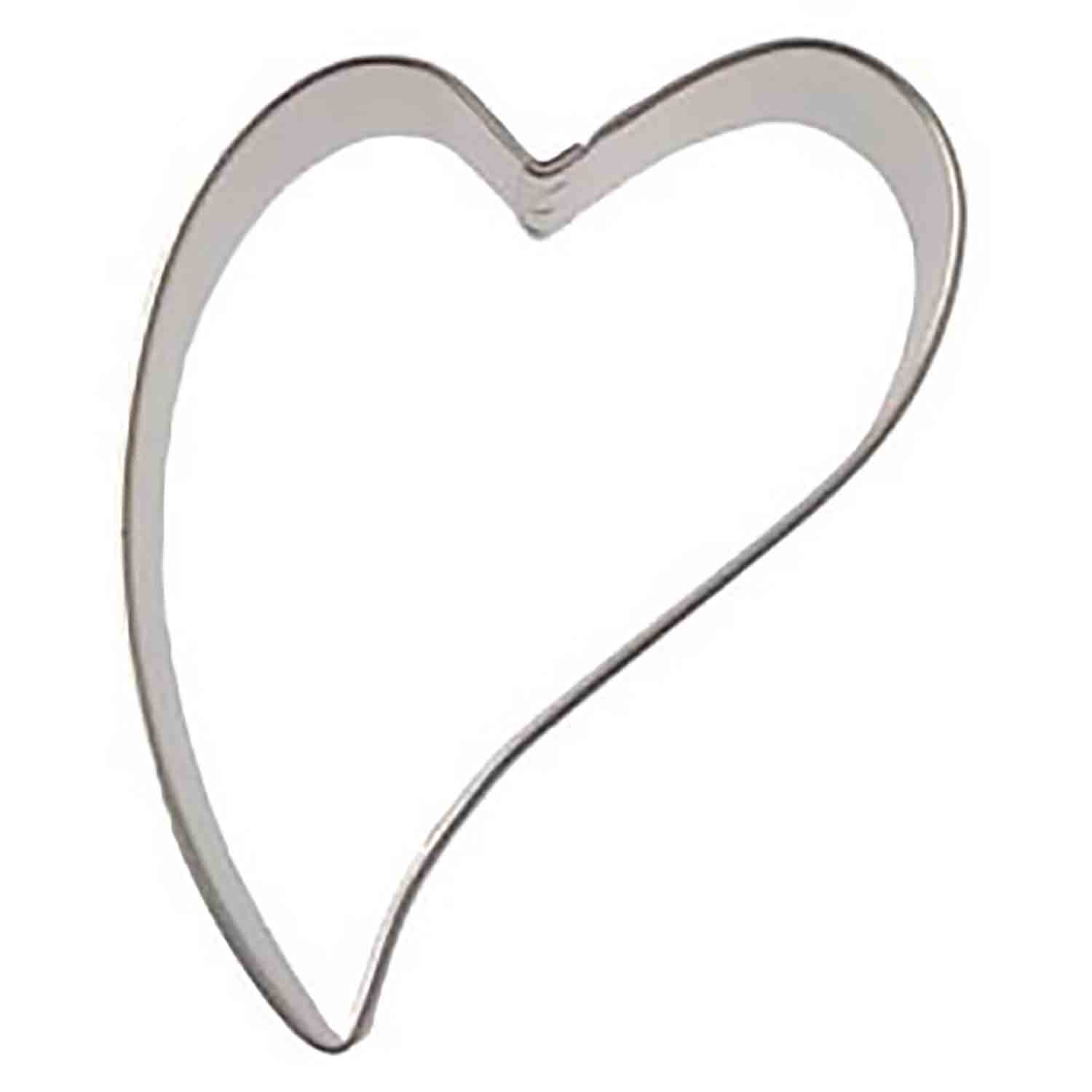 Folk Heart Cookie Cutter