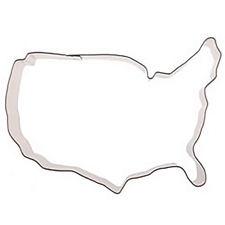 USA Map Cookie Cutter