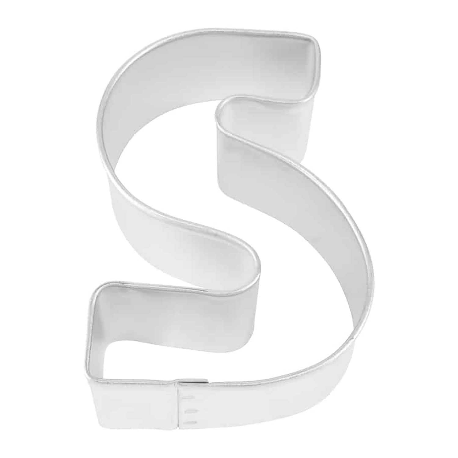 Letter S Cookie Cutter