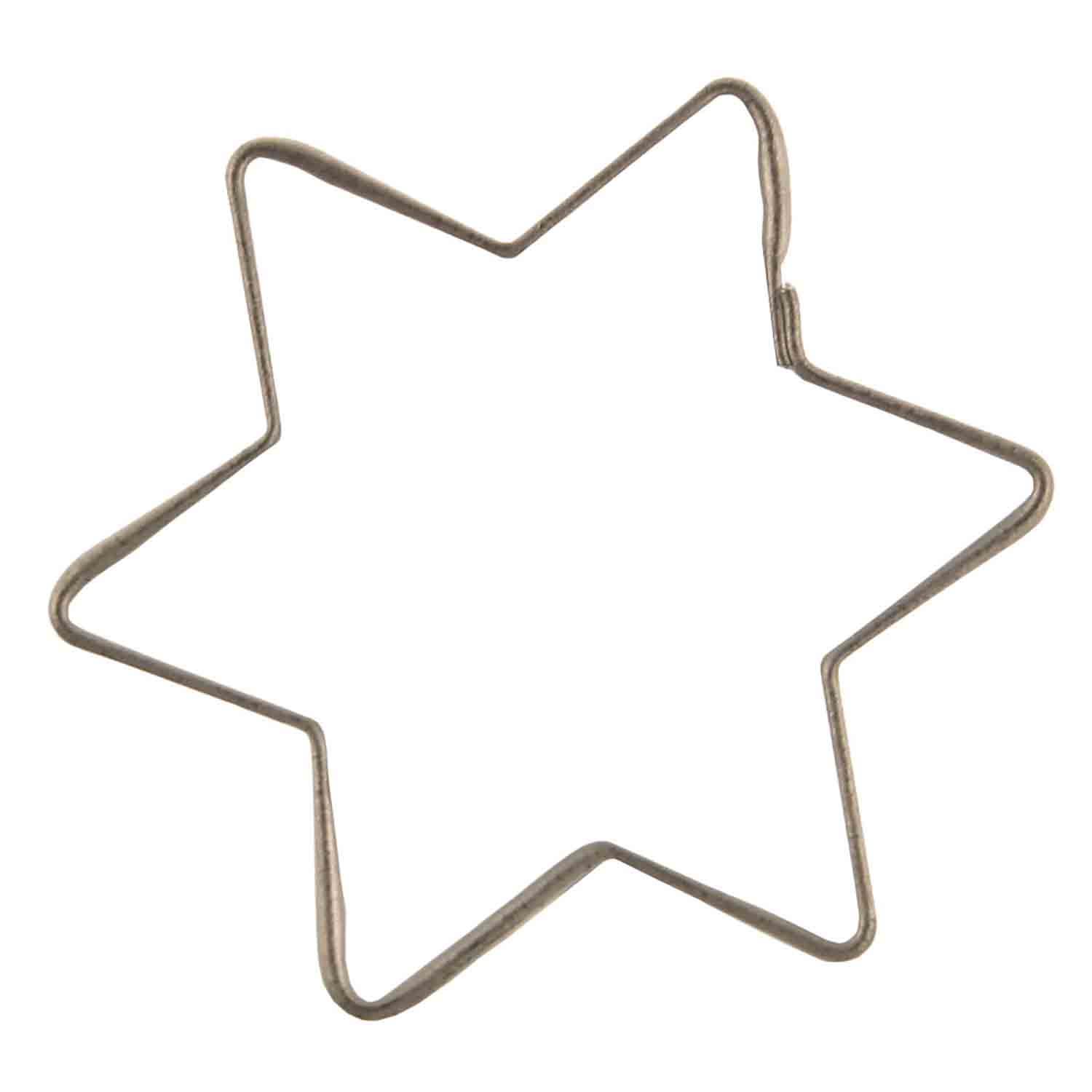 Mini 6 Point Star Cookie Cutter