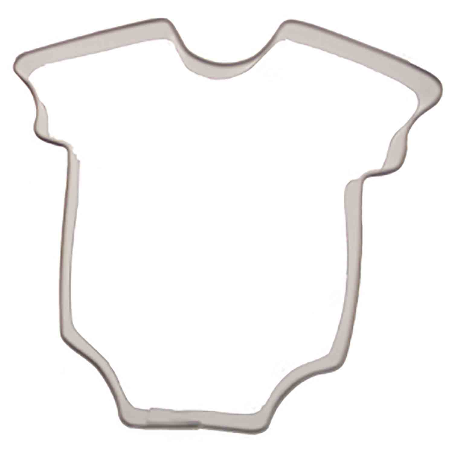 Mini Baby Bodysuit Cookie Cutter