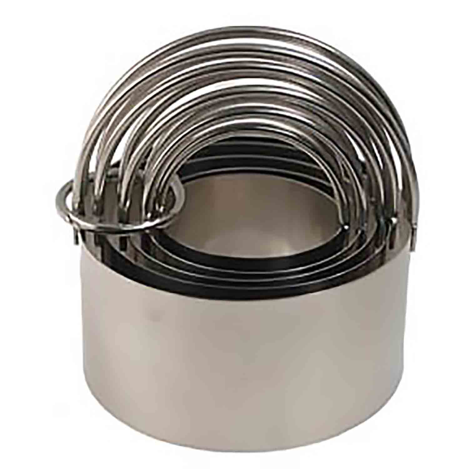 Stainless Steel Biscuit Cutter Set