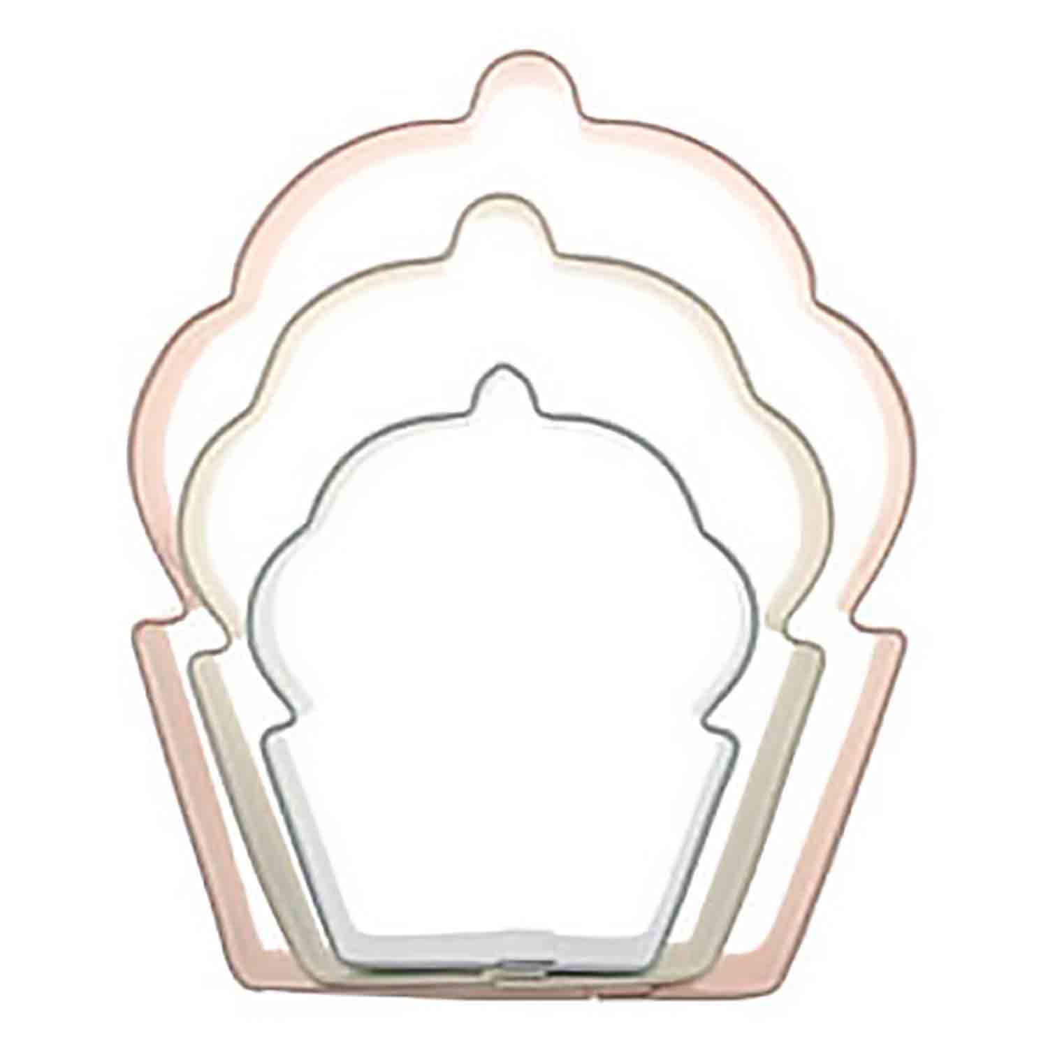 Cupcakes Cookie Cutter Set