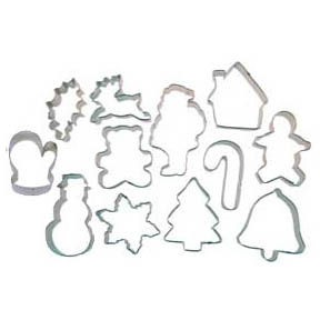 Holiday Seasonal Cookie Cutter Set