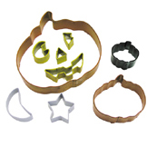 Pumpkin Cookie Cutter Set