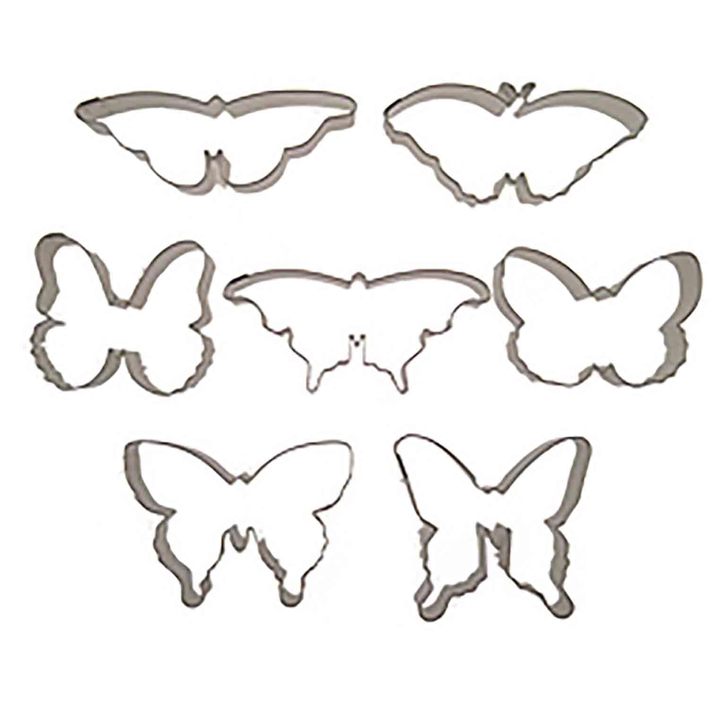 Butterfly Cookie Cutter Set