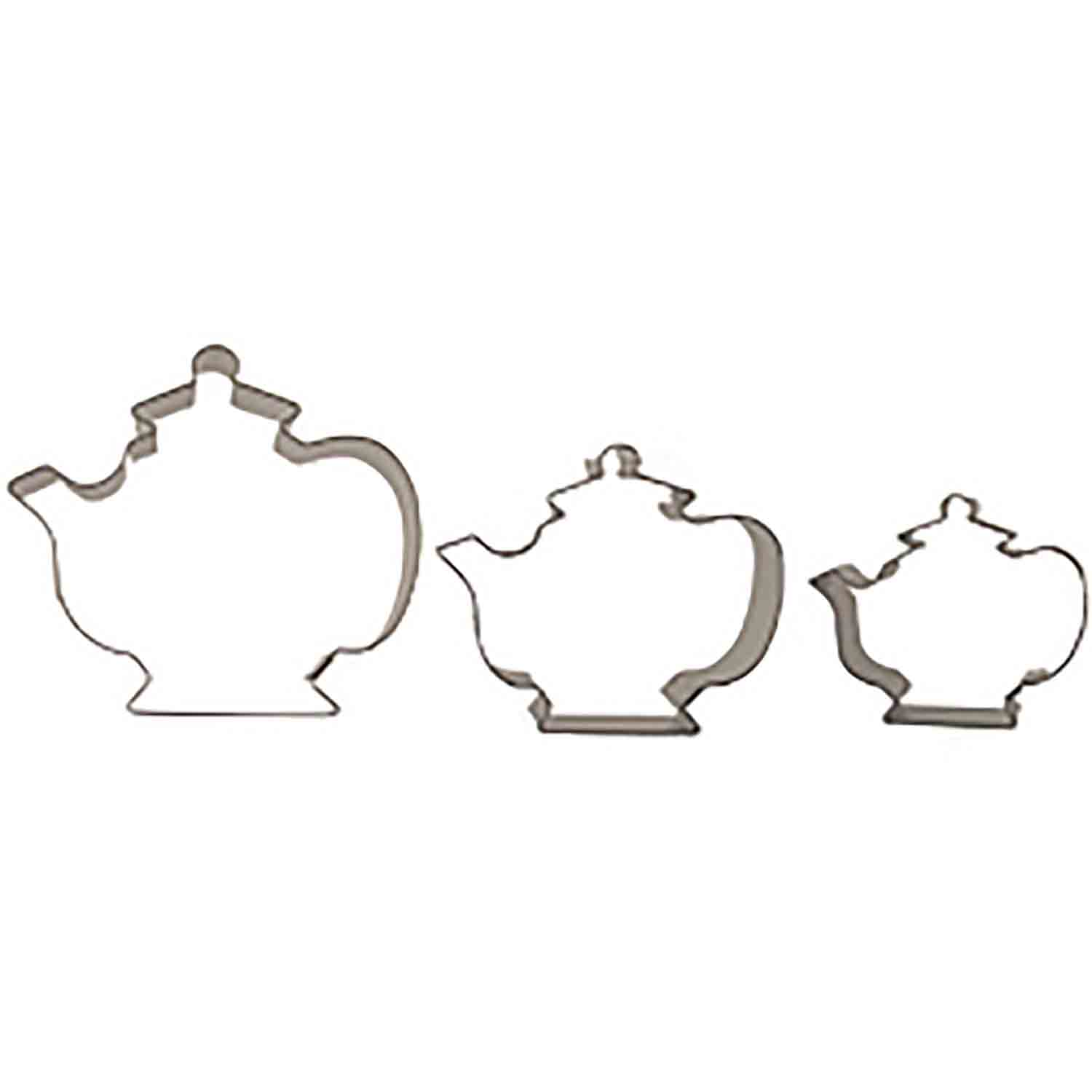 Teapots Cookie Cutter Set