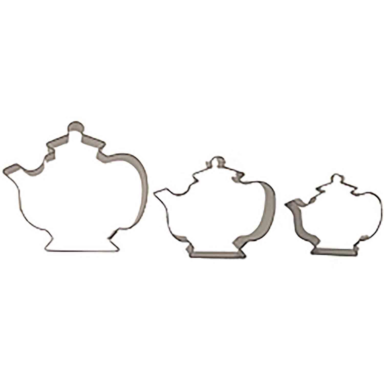 Teapots Cookie Cutter Set