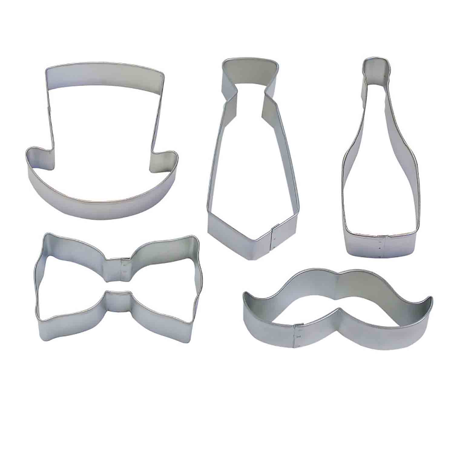 Gents Night Cookie Cutter Set