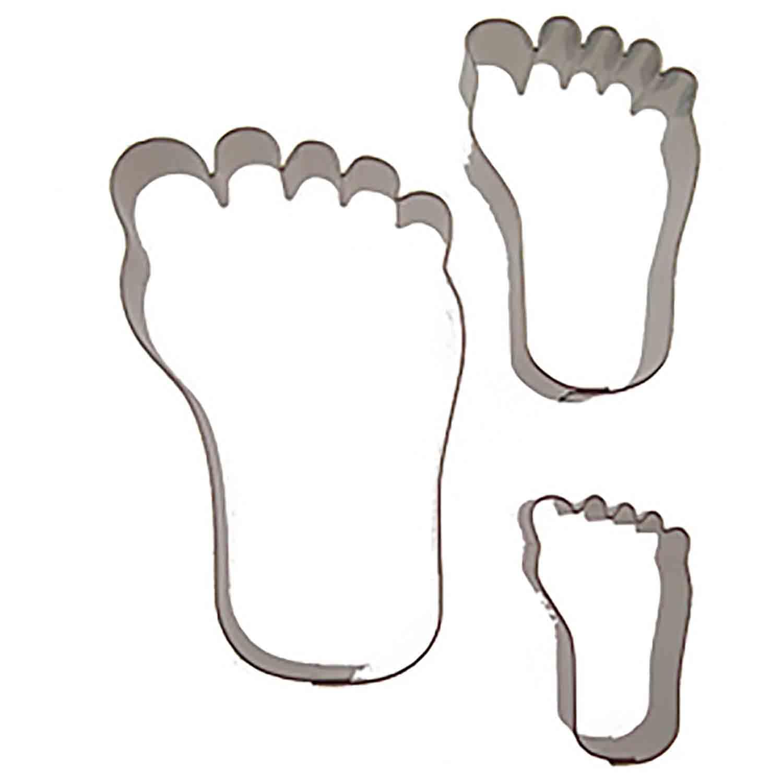 Feet Cookie Cutter Set