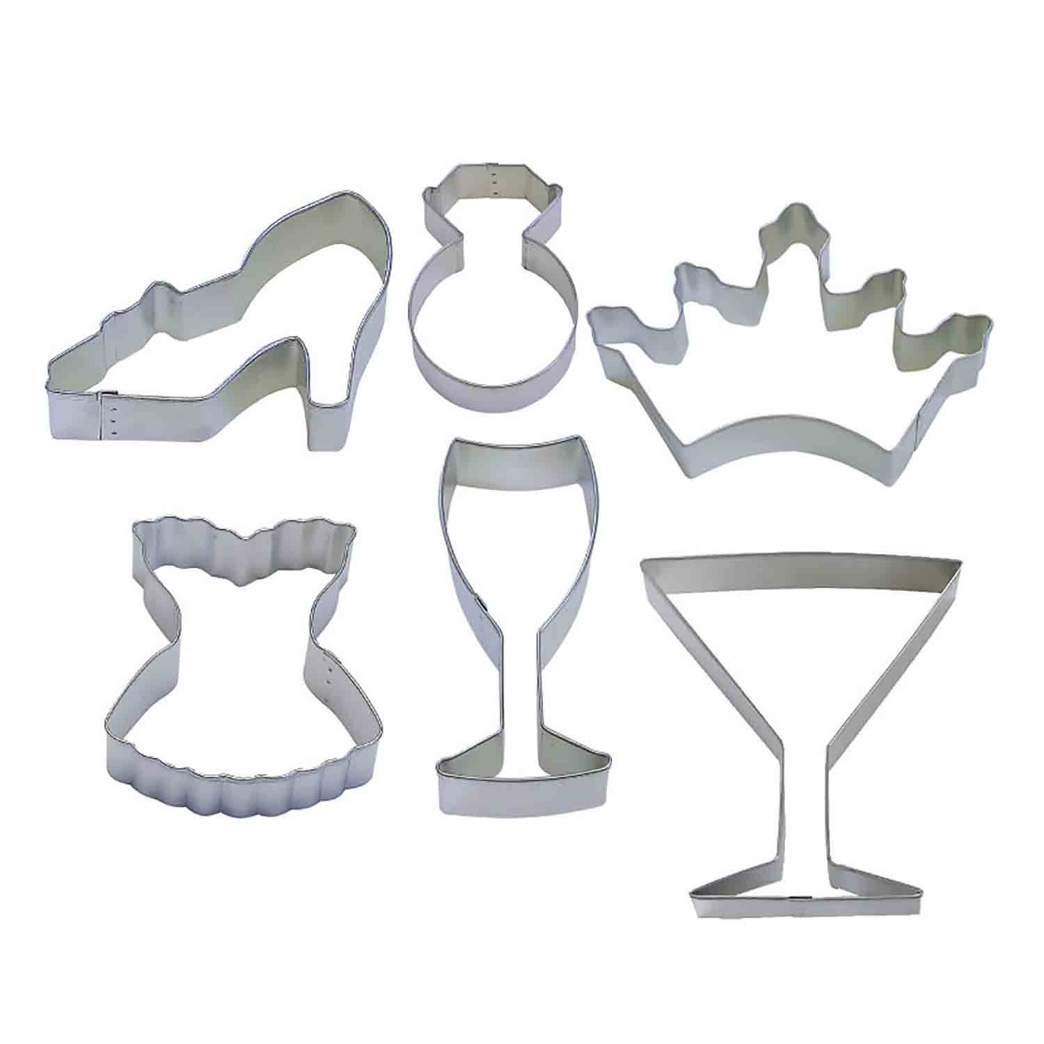 Girls Night Cookie Cutter Set