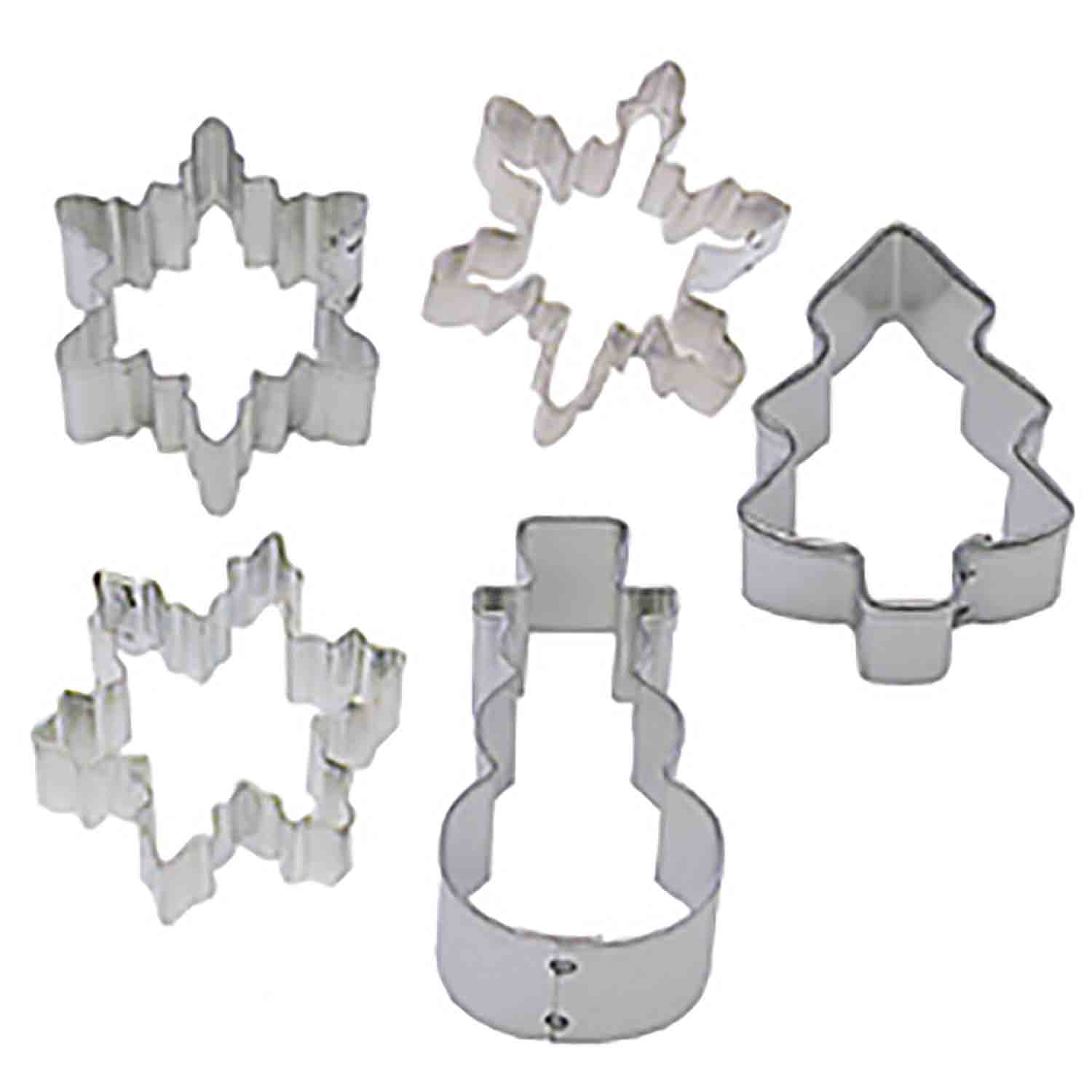 Mini Snow Cookie Cutter Set