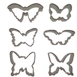 Mini Butterflies Cookie Cutter Set