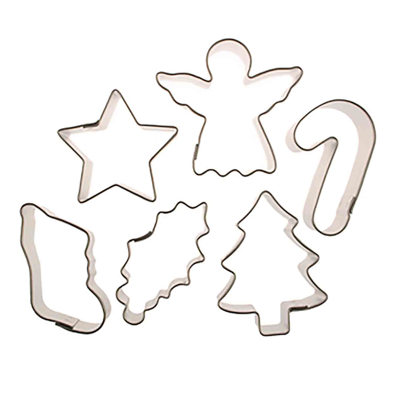 Mini Christmas Cookie Cutter Set