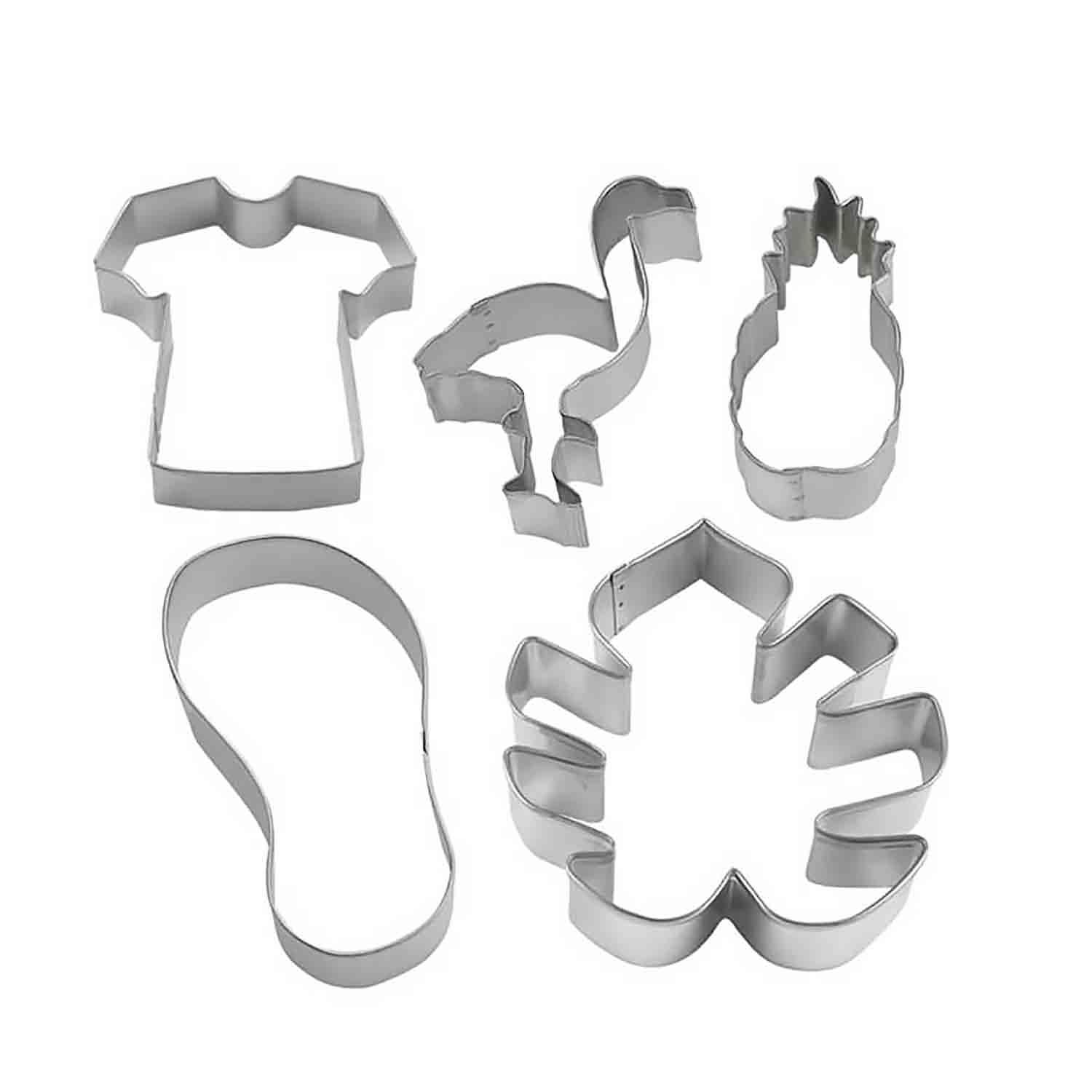 Tropical Cookie Cutter Set