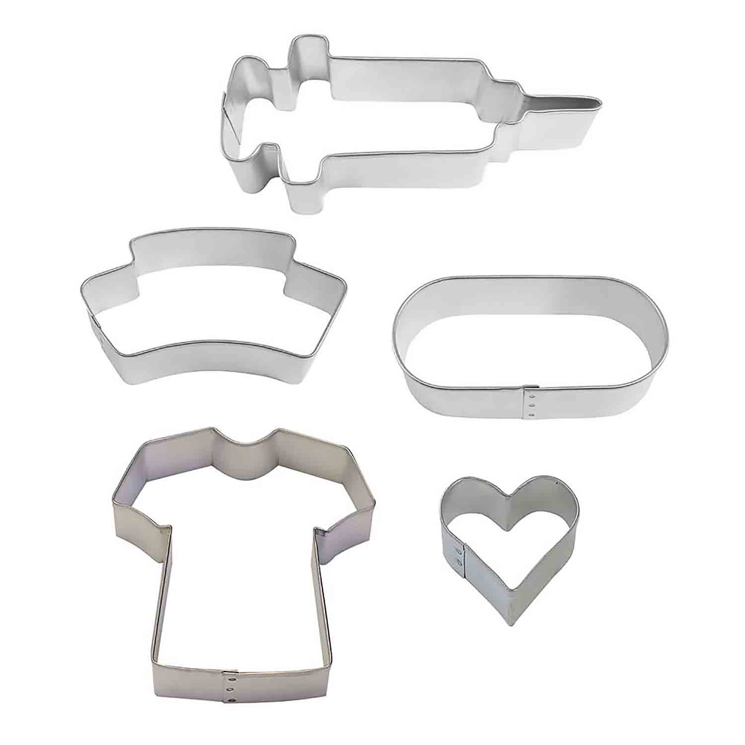 Nurse Cookie Cutter Set