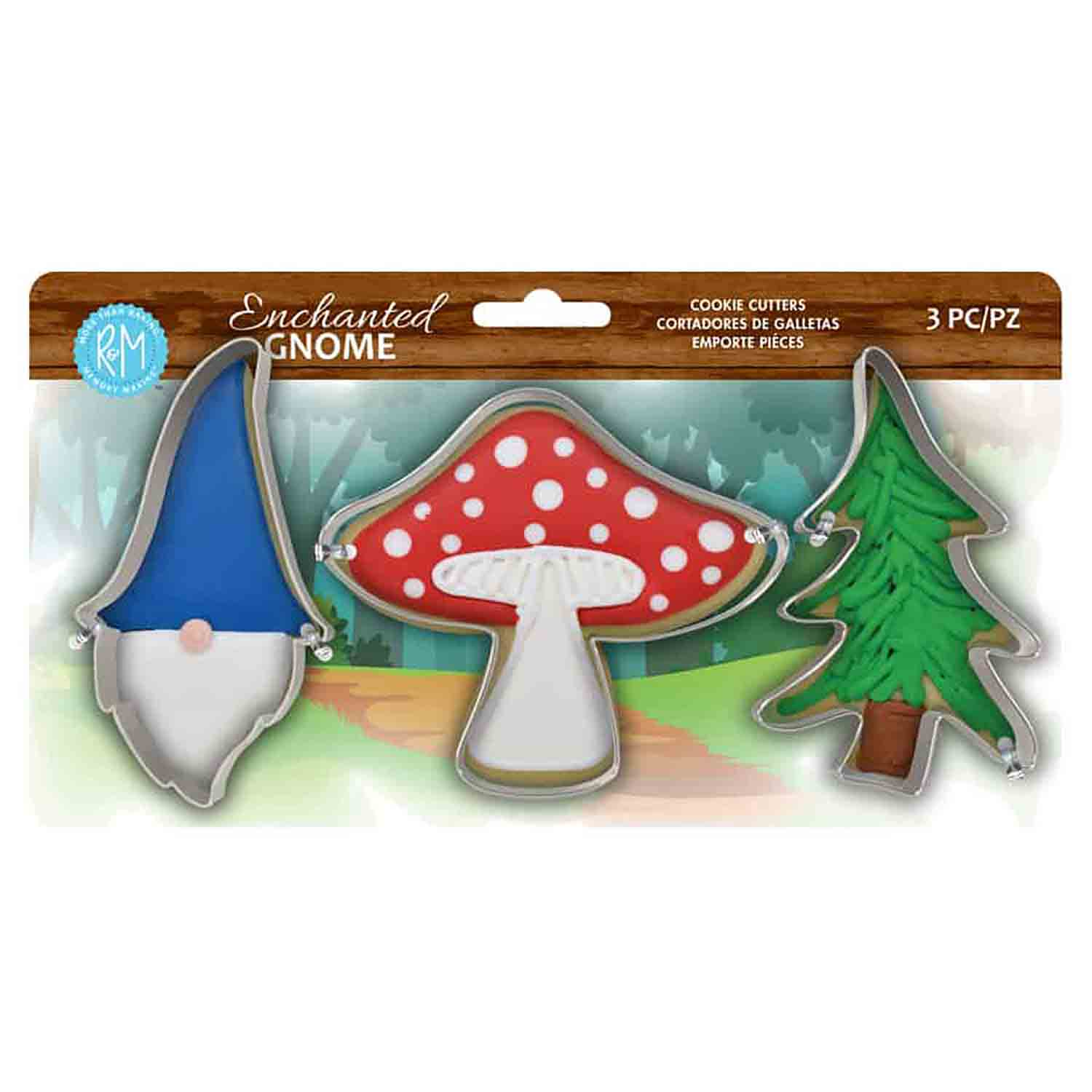 Enchanted Garden Cookie Cutter Set