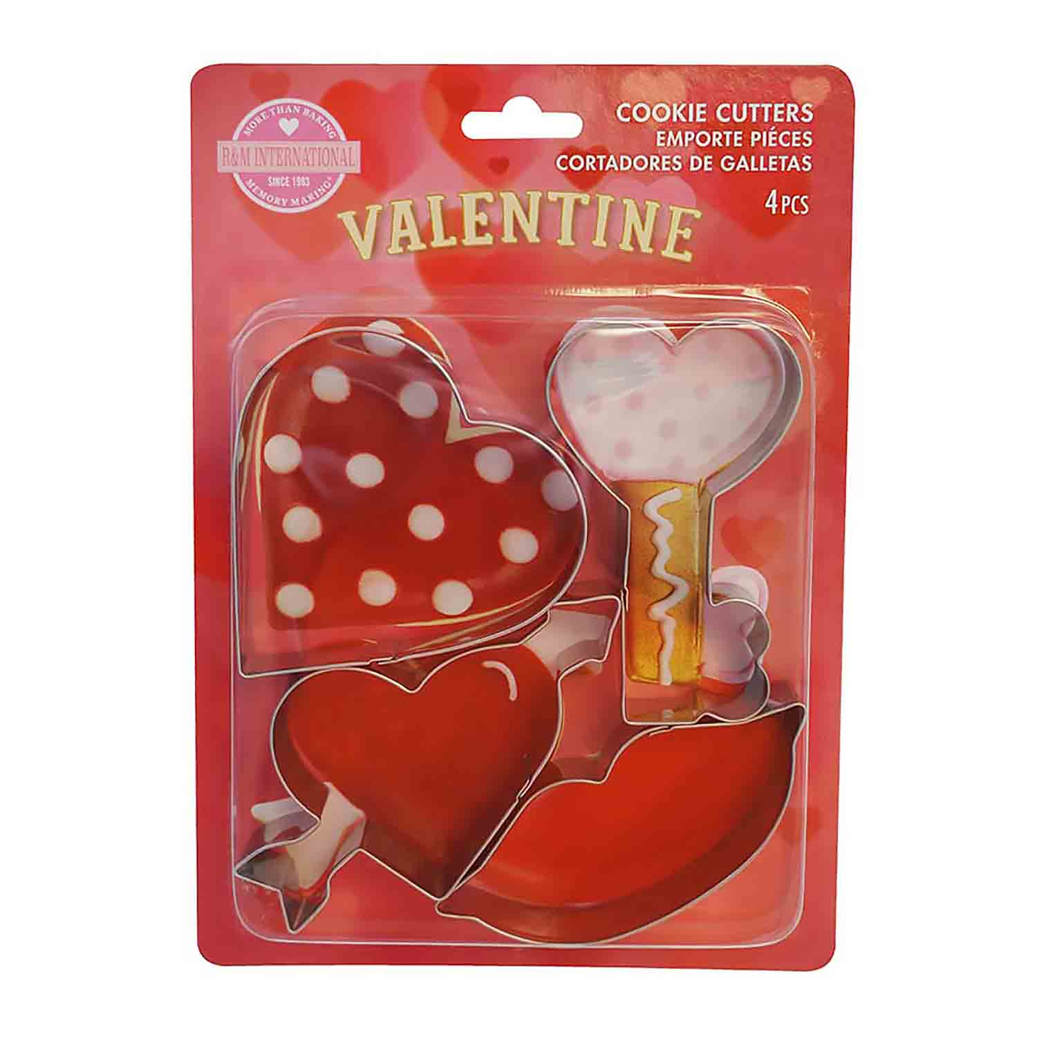 Valentine Cookie Cutter Set