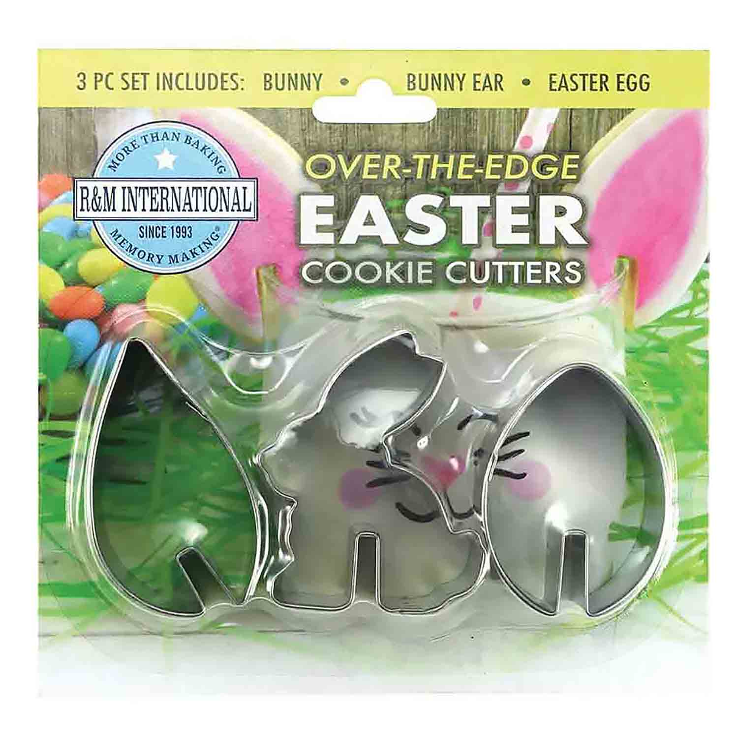 Over-The-Edge Easter Cookie Cutter Set