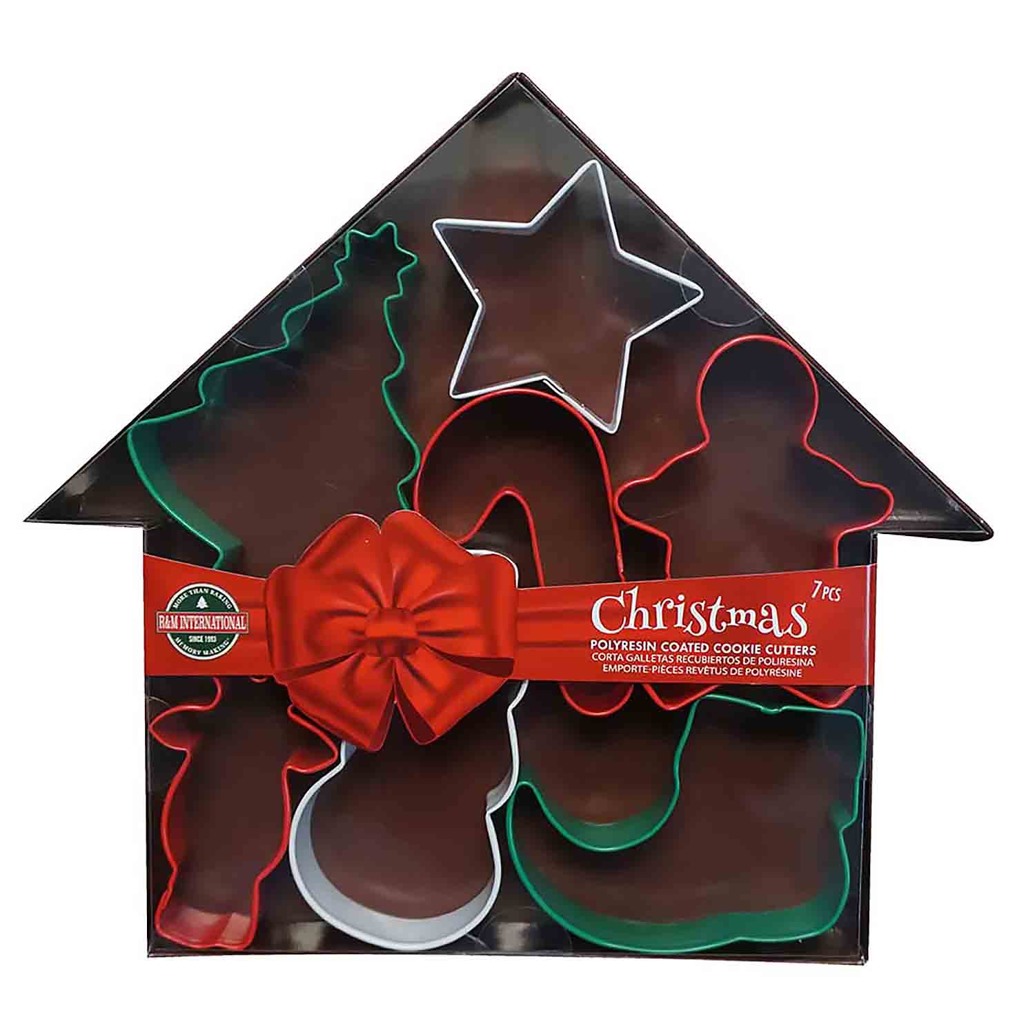 Christmas House Cookie Cutter Set