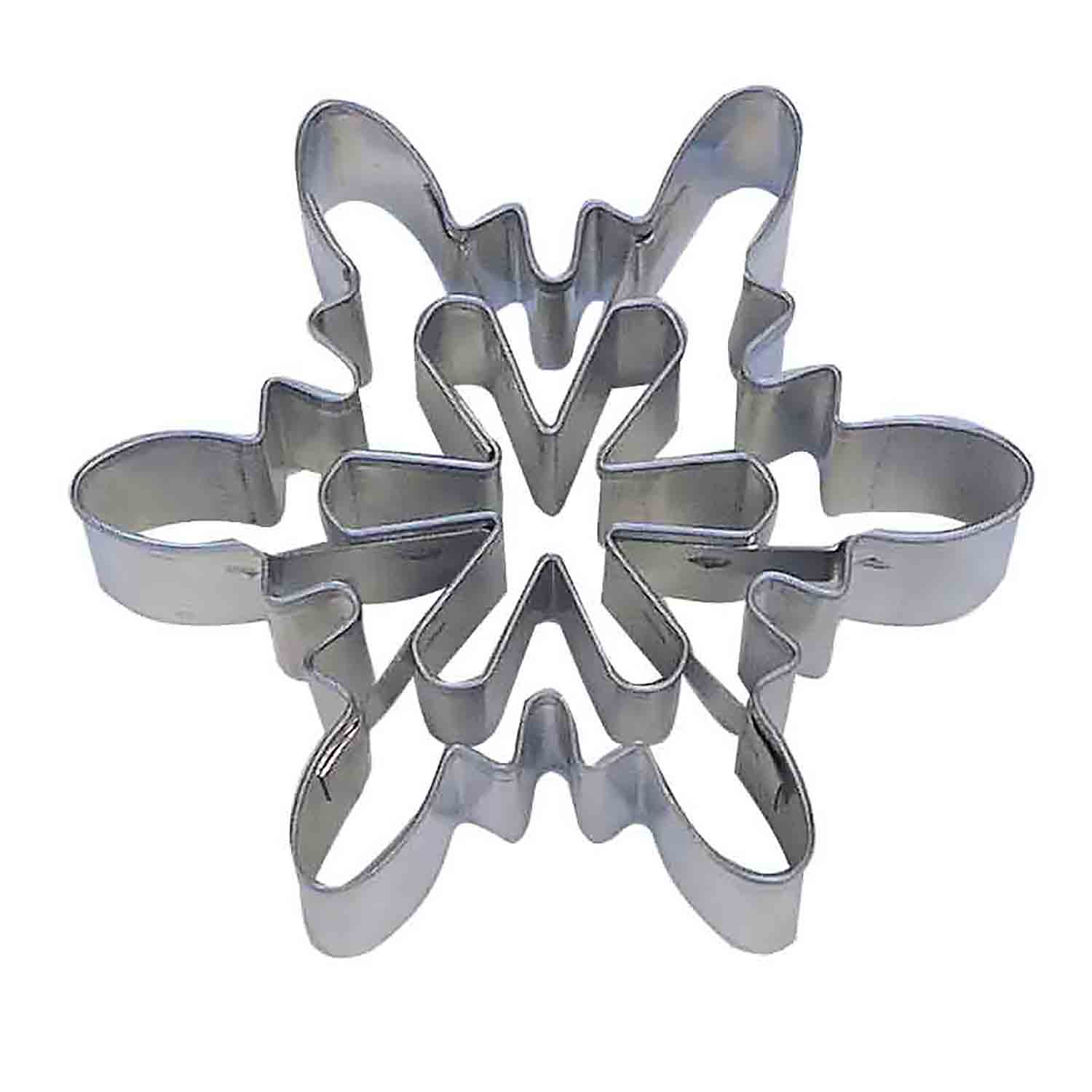 Snowflake Cookie Cutter with Inserts