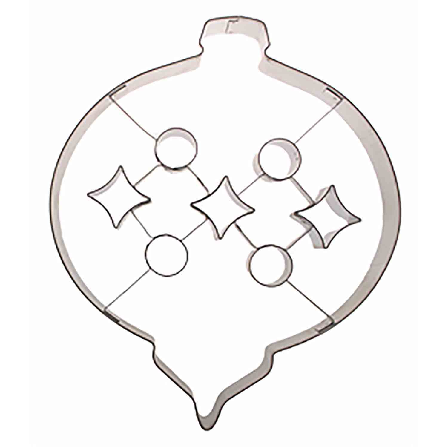 Extra-Large Ornament With Insert Cookie Cutter