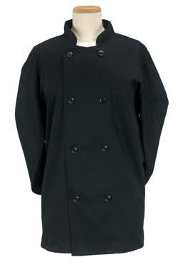Size Large Black Chef Jacket