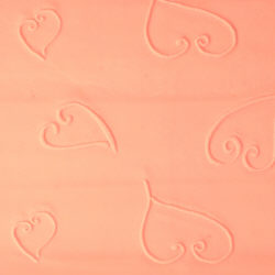 Heart Textured Rolling Pin