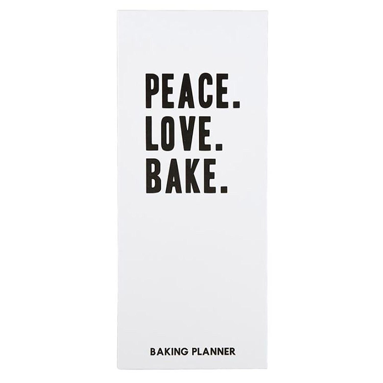 Love Peace Bake Baker's Planner