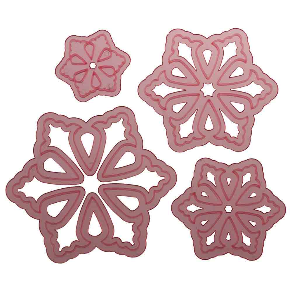 Stellar Flower Cutter Set by Colette Peters