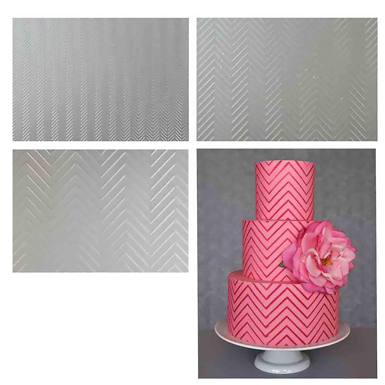 Chevron Pattern Texture Sheet Set  by Lauren Kitchens