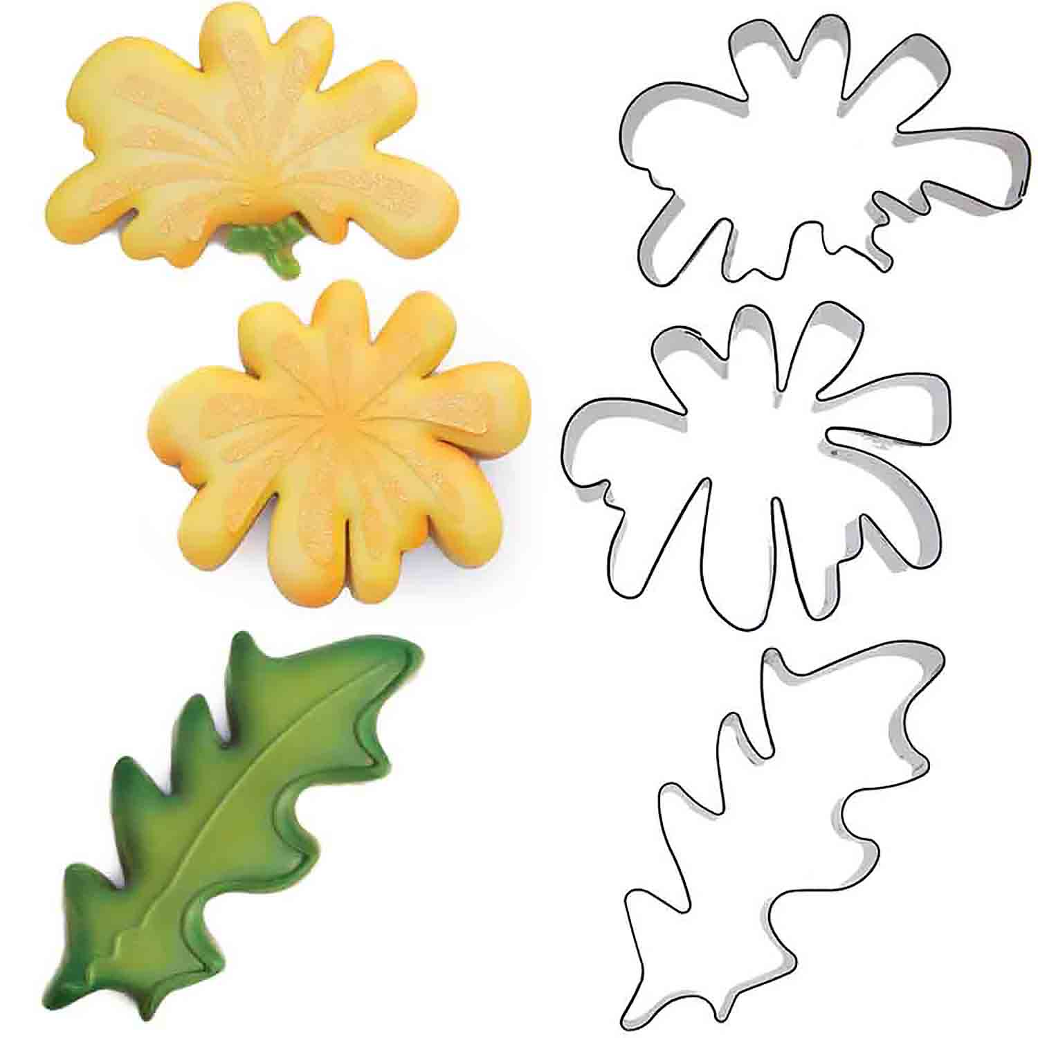 Dandelion Cookie Cutter Set by Blyss Cookies