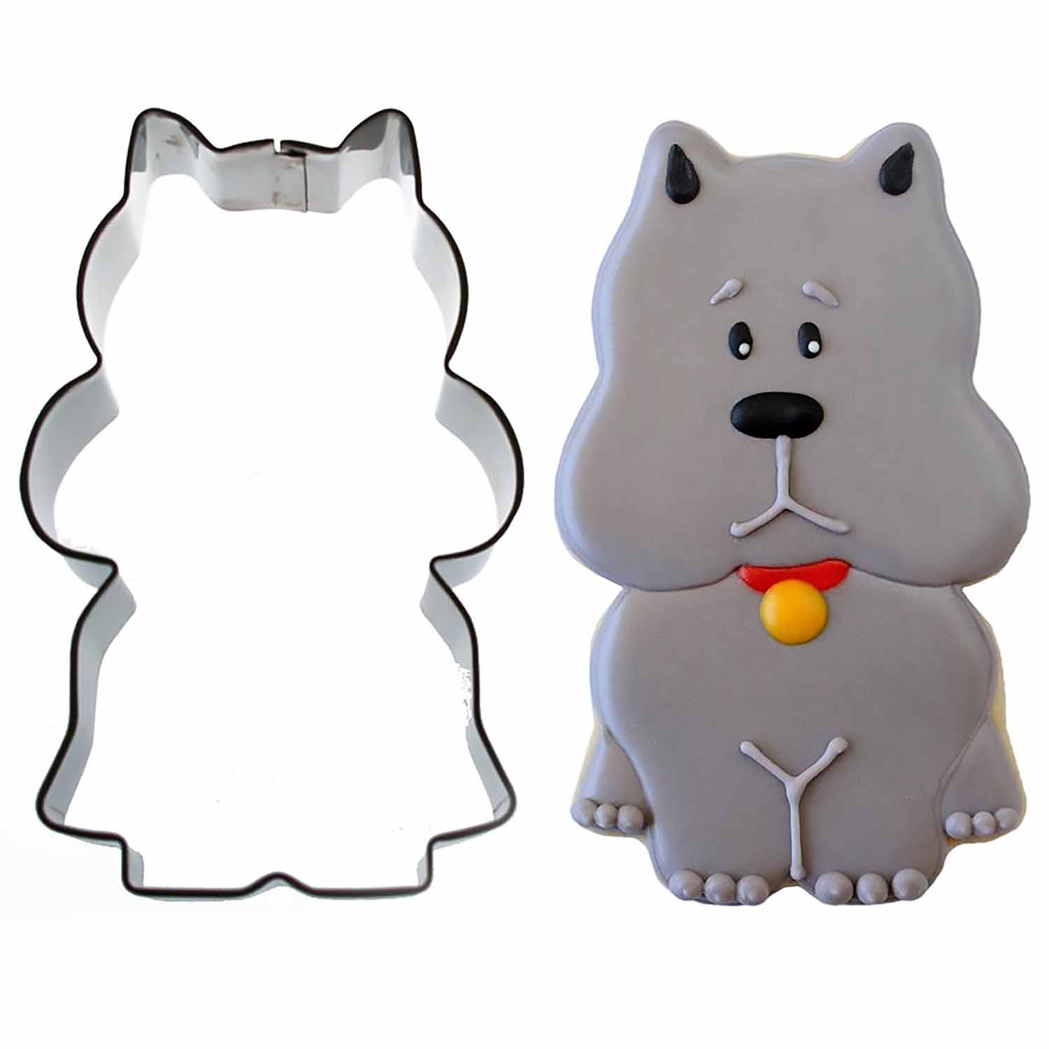 Sitting Scottie Dog Cookie Cutter by Sweet Sugarbelle