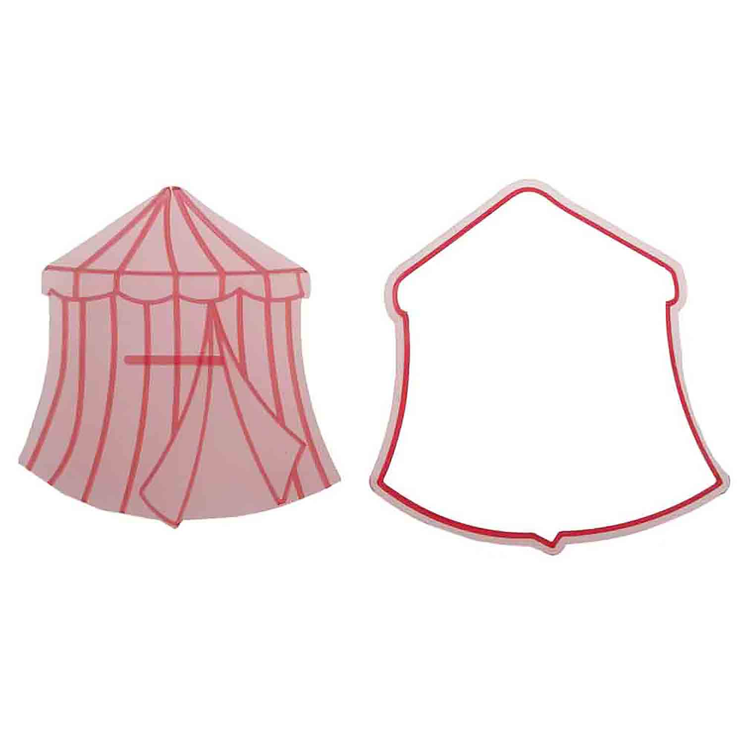 Circus Tent Cutter and Embosser Set by Cakegirls