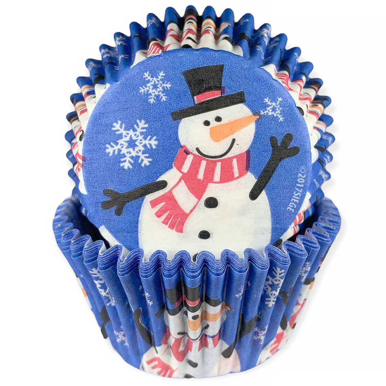 Snowman Standard Baking Cup