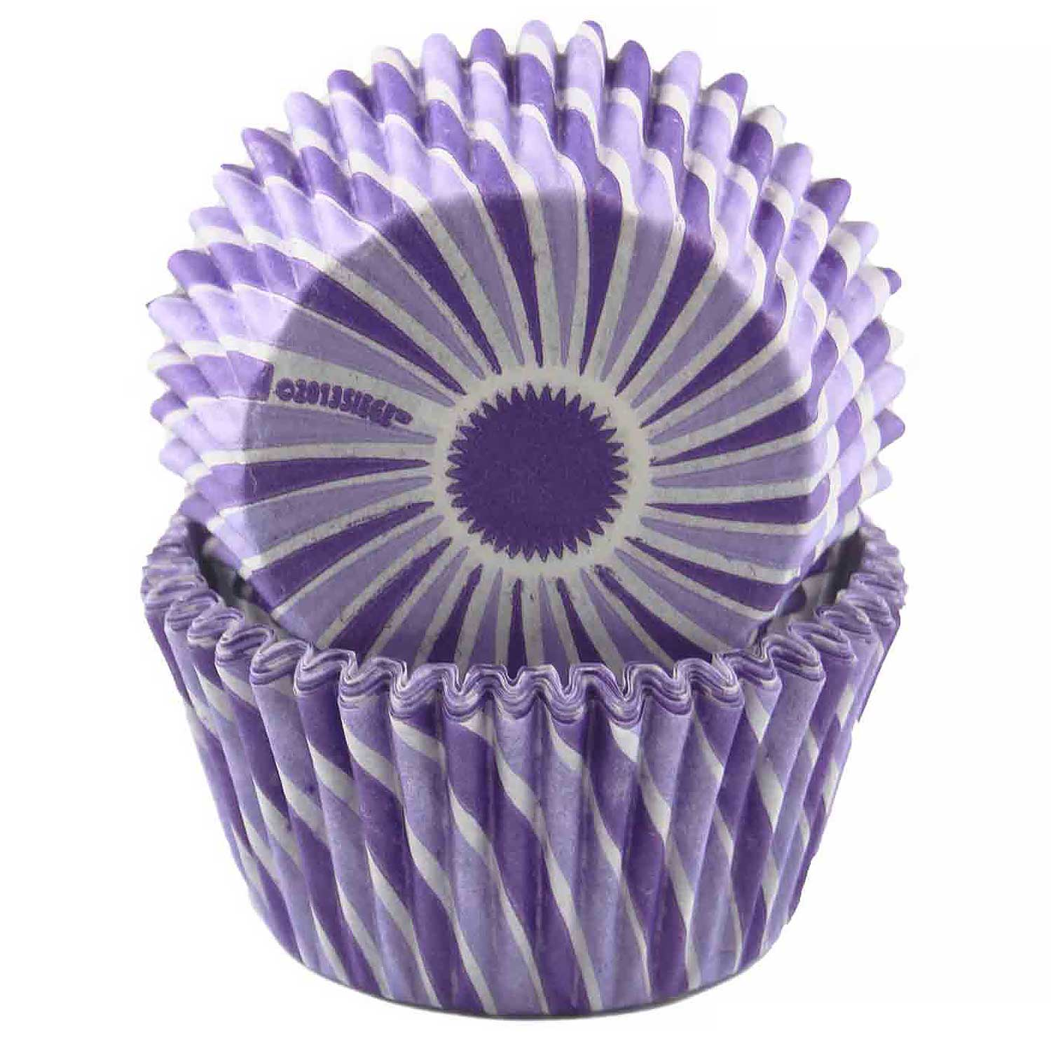 Purple Swirl Standard Baking Cup