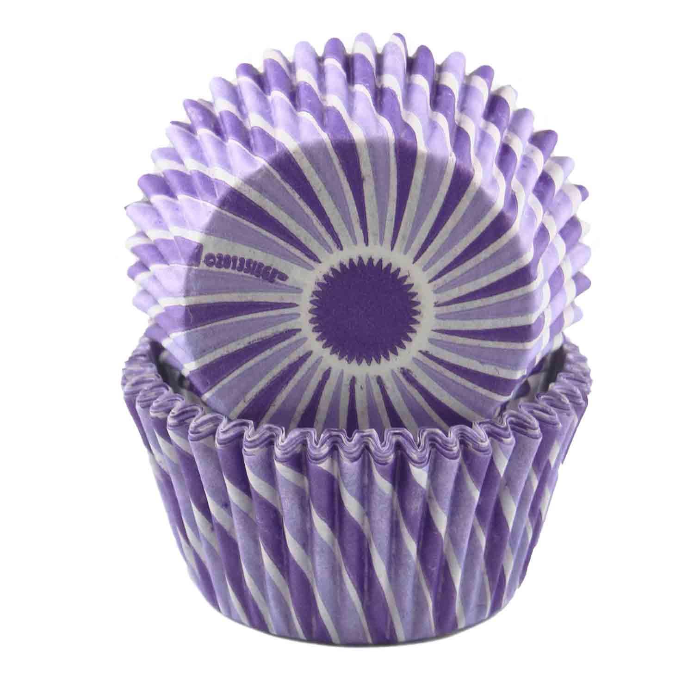 Purple Swirl Standard Baking Cup