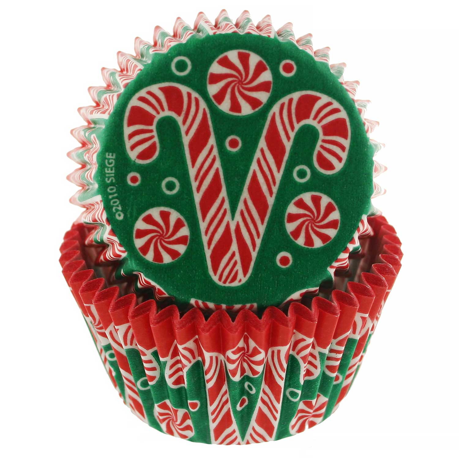 Candy Cane Standard Baking Cup
