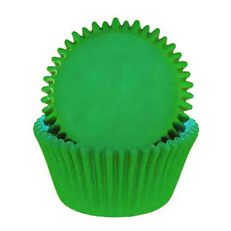 Green Standard Baking Cups