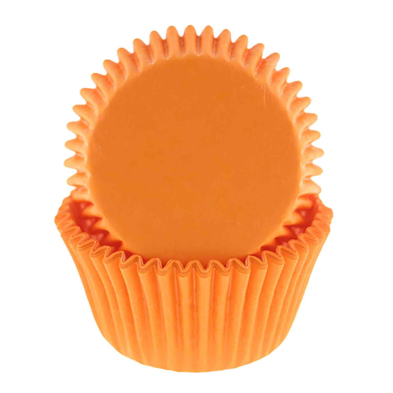 Orange Standard Baking Cups