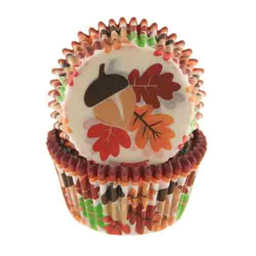 Autumn Leaves Standard Baking Cup