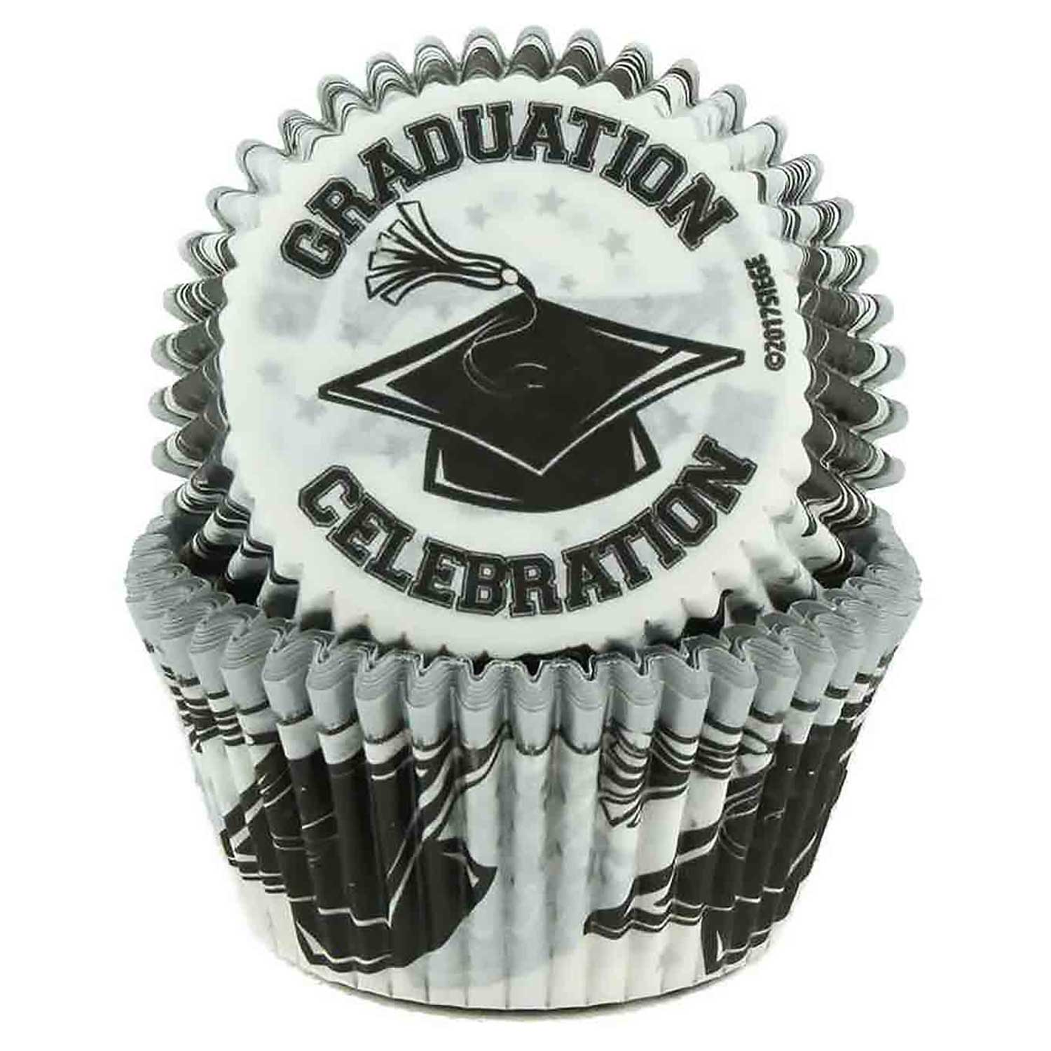 Graduation Standard Baking Cups