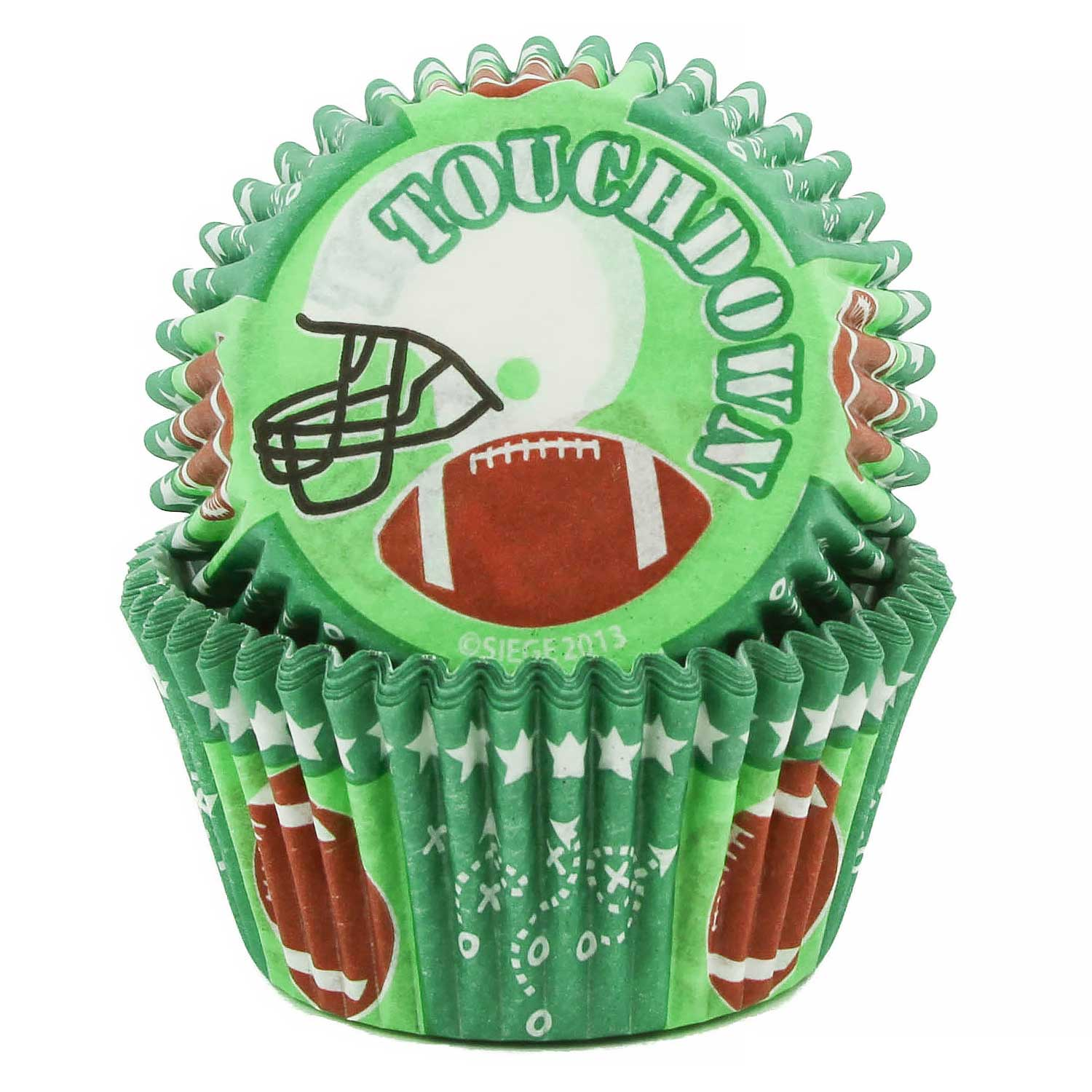 Football Standard Baking Cups