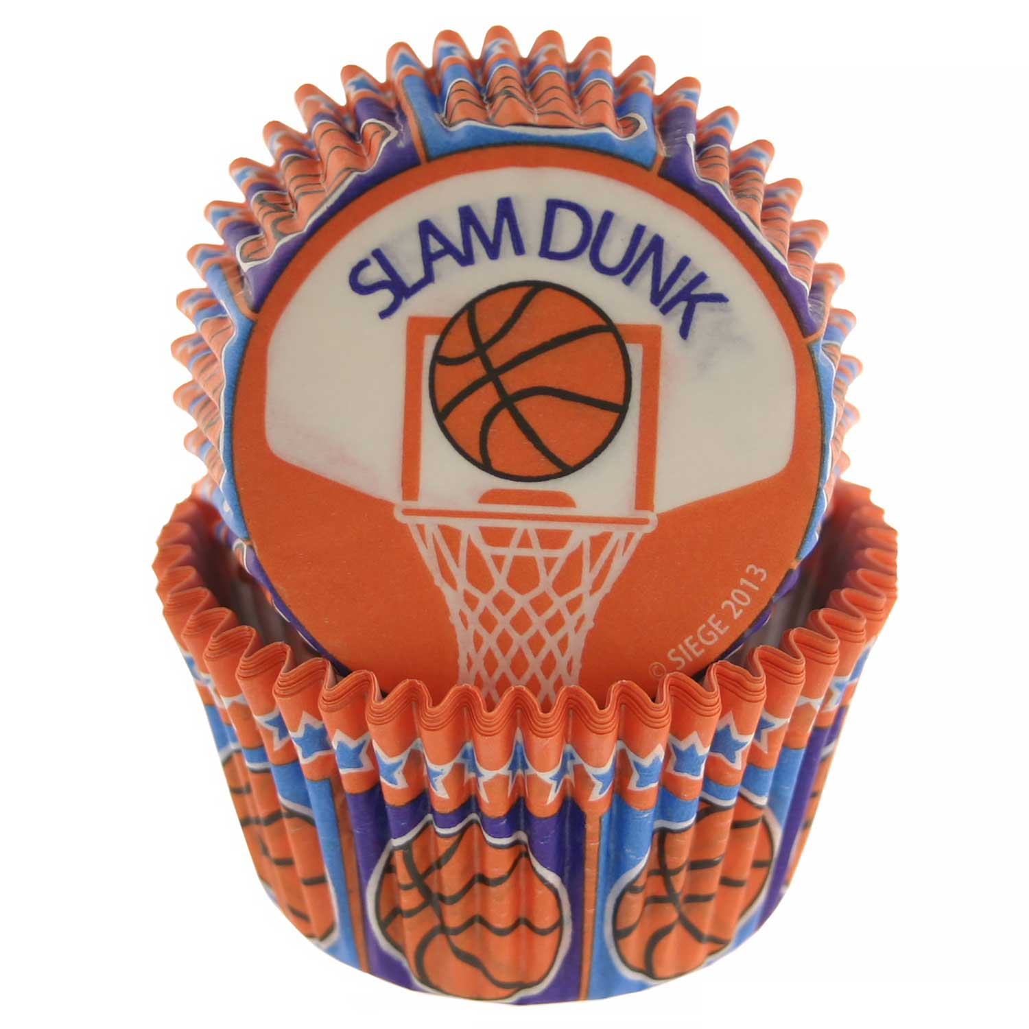Basketball Standard Baking Cups