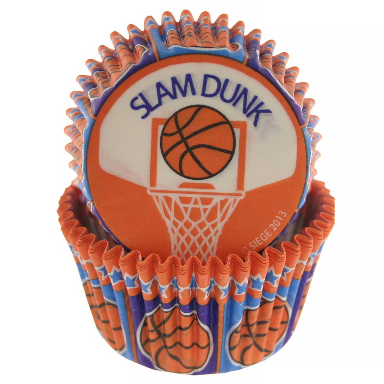 Basketball Standard Baking Cups