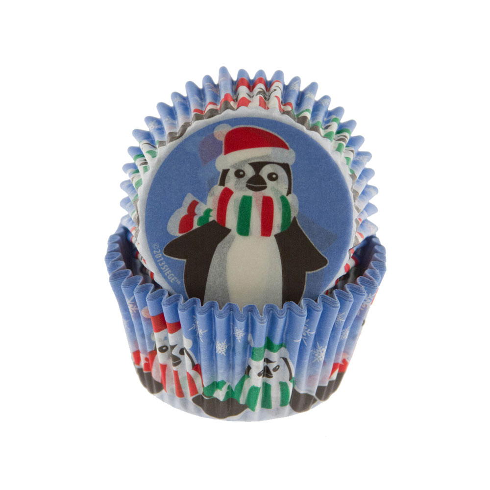 Happy Penguins Standard Baking Cup